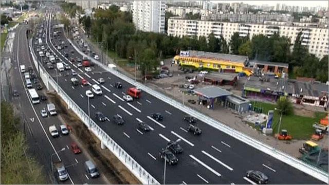 по Ярославскому шоссе