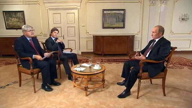 Владимир Путин дал эксклюзивное интервью Первому каналу и агентству ''Ассошиэйтед Пресс''