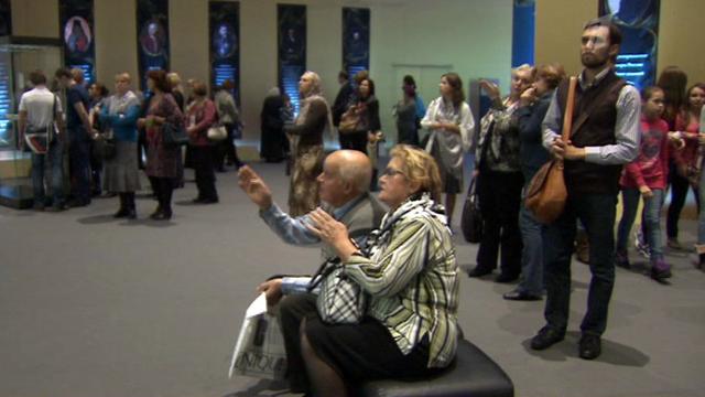 Выставка, посвященная 400 летию династии Романовых в Москве
