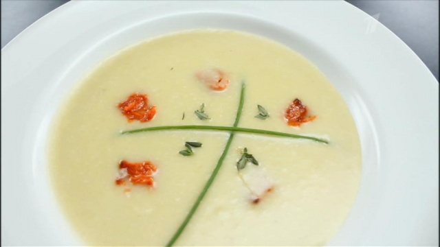 Картофельный суп «Вишисуаз»