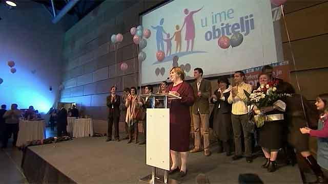 В Хорватии прошел референдум по вопросу о запрете однополых браков