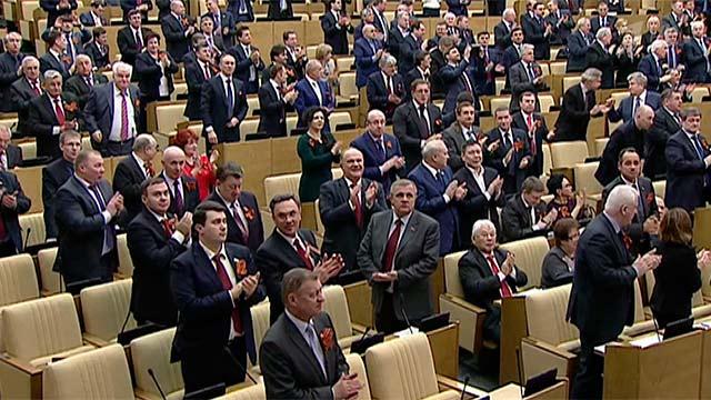Госдума ратифицировала Договор о вхождении Крыма в состав России