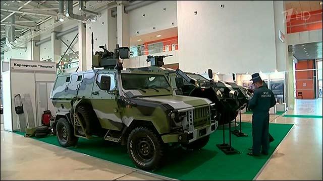 На выставке в Москве представили будущие системы и средства безопасности