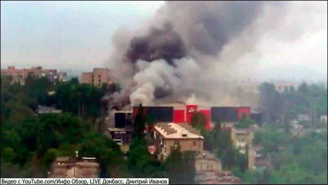 Юго-Восток Украины - под интенсивным обстрелом