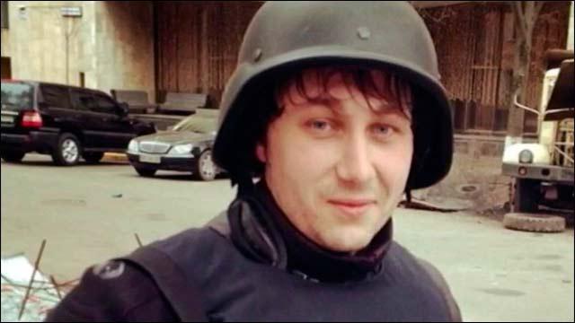 Под луганском погибли корреспондент и