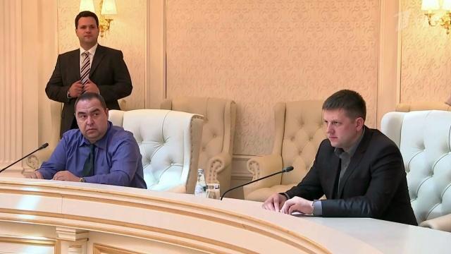 В Минске подписан протокол о прекращении боевых действий на юго-востоке Украины