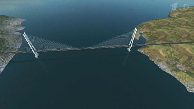 Работы по строительству моста