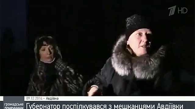 Телесюжет из украинской Авдеевки обернулся скандалом