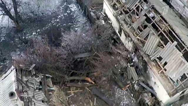 Украинская армия прицельно бьет по