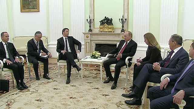 Встретился с премьер министром италии