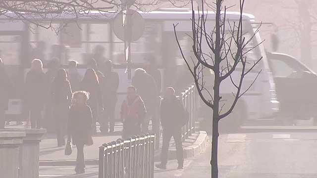 Санкт-Петербург накрыло пыльное облако