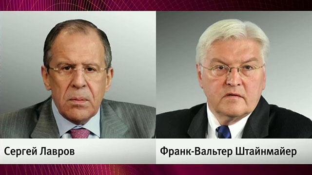 Лавров провел переговоры с главами МИД Германии и Франции