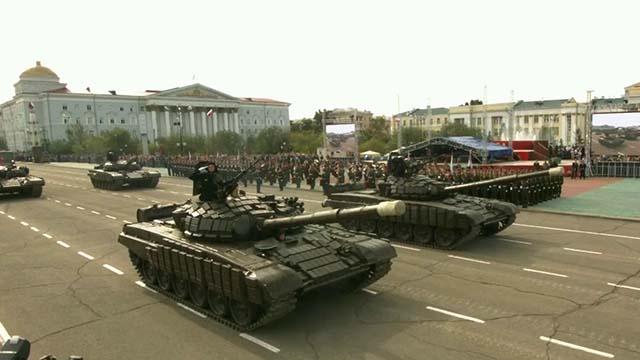 На Дальнем Востоке отмечают годовщину окончания Второй Мировой войны