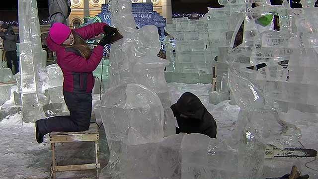 В Костроме стартует фестиваль снежной скульптуры