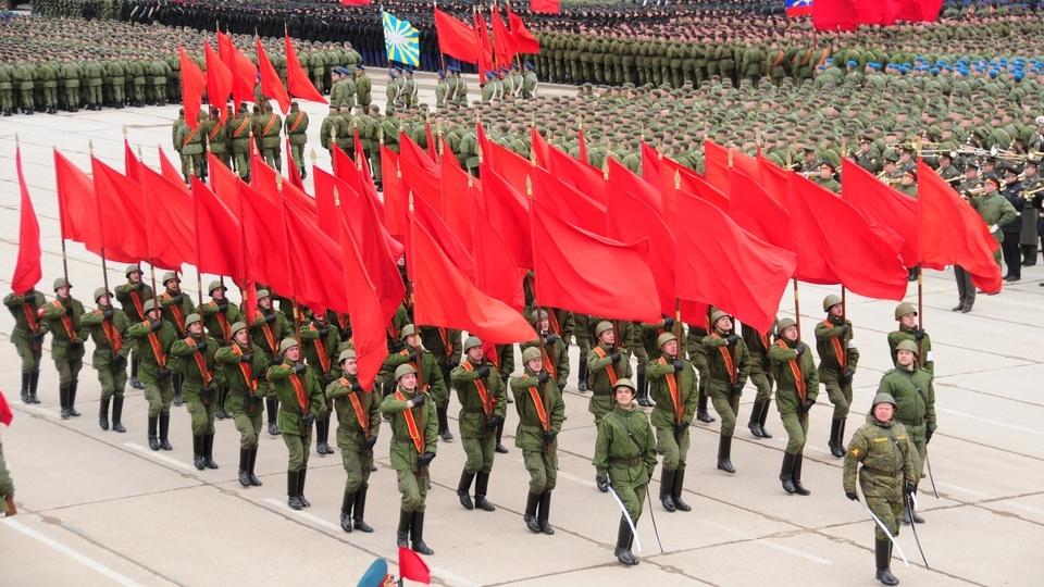 Парад 9 мая 2 16 года в День Победы в Москве на
