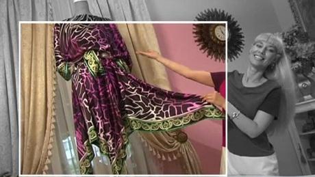 Юбки и блузки из платков 44