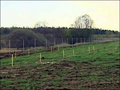 Размеры земельных участков могут колебаться от 6 до 15 соток.