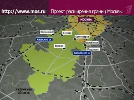 Опубликована карта новых