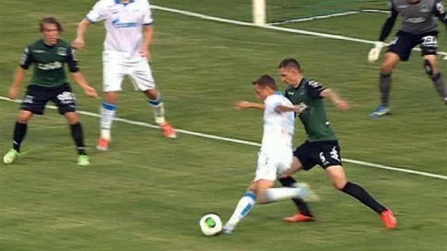 футбол россия латвия
