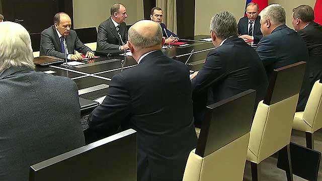 Президент Владимир Путин провел в Ново-Огарево заседание Совбеза РФ
